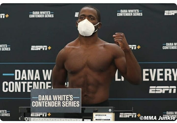 Francis Ngannou was first, but Tafon Nchukwi hopes to be Cameroon's next UFC star