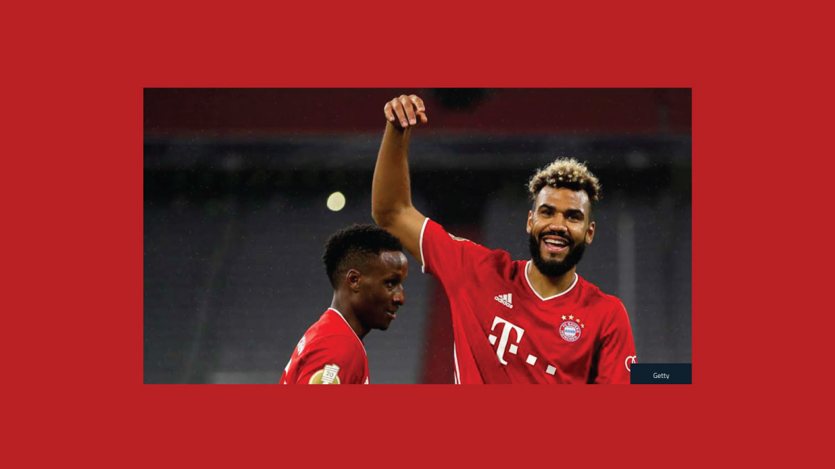 Choupo-Moting delighted to start life at Bayern on the right foot after debut double