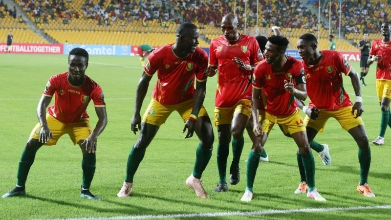 Guinea finish third at CHAN after defeating Cameroon